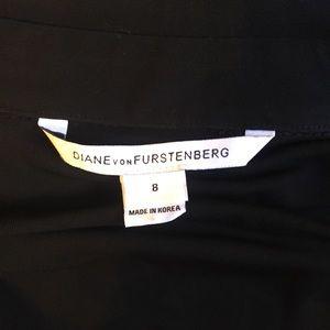 Diane Von Furstenberg Dresses - Diane Von Furstenberg Black wrap dress 8